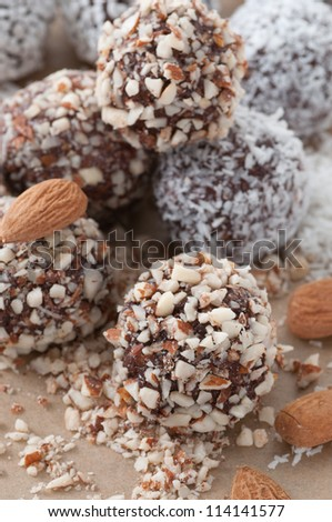 Chocolate Ball - stock photo