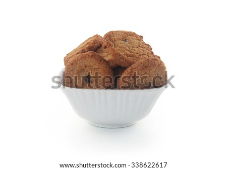 Chocolate biscuit  - stock photo