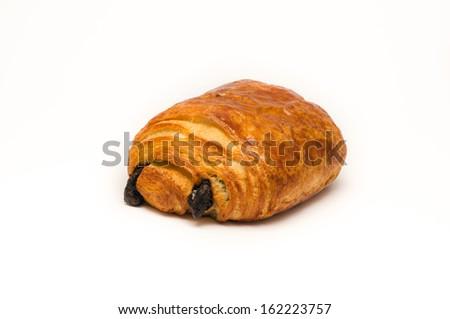 Chocolate croissant - stock photo