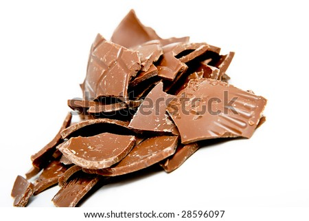 Chocolate Easter Egg Gift - stock photo