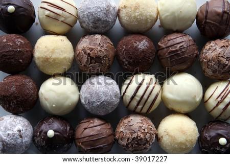 Chocolate Fantasy - stock photo