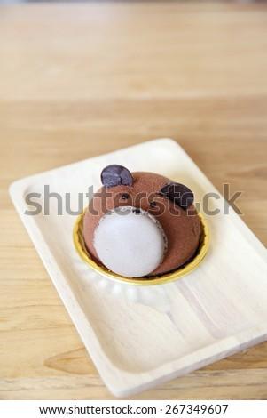 Chocolate Lava Cake  - stock photo