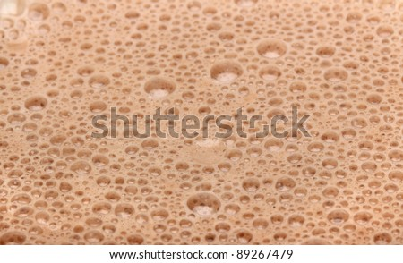 Chocolate Milk close up shot for background - stock photo