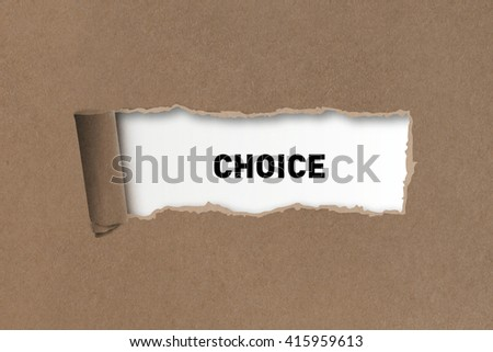 Choice Challenge Making Decision Selection Concept - stock photo