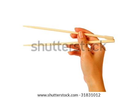 chopsticks - stock photo