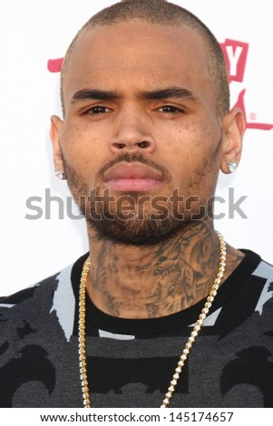 Chris Brown at the 2013 Billboard Music Awards Arrivals, MGM Grand, Las Vegas, NV 05-19-13 - stock photo
