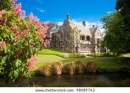 Christchurch - Canterbury Provincial Councill - stock photo