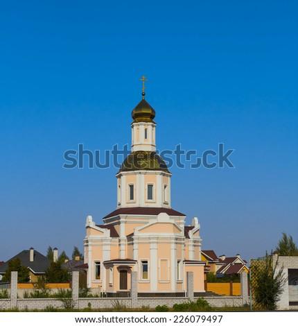 christian church - stock photo