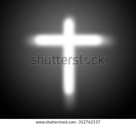 Christianity:Believe in God,Crucifix - stock photo
