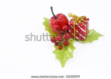 Christmas adornment - stock photo