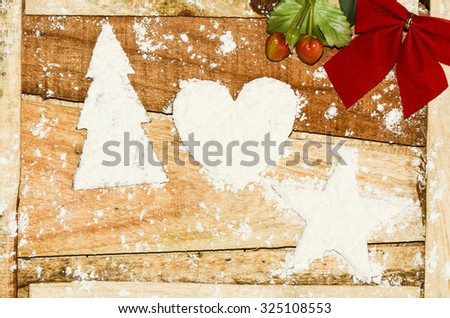 Christmas an event celebrated and observed by christians all over the world / Christmas ornaments / Rich or poor, homemade or mass produced ornaments are a necessity to decorate the occasion - stock photo