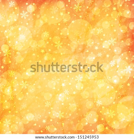 Christmas and New Year bright background - stock photo