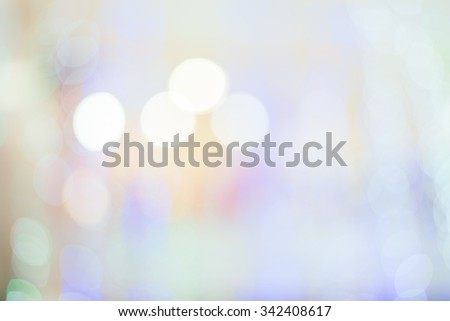 Christmas and New Year festive bokeh background, place for holiday text - stock photo