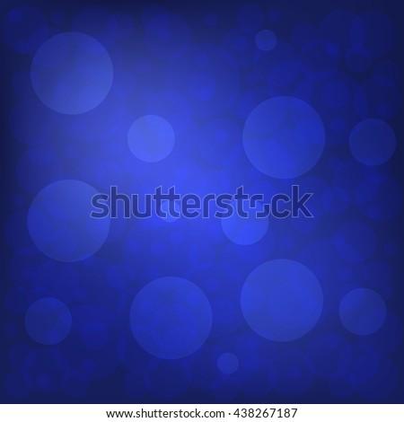 Christmas and New Year Holidays Blue Background. illustration - stock photo