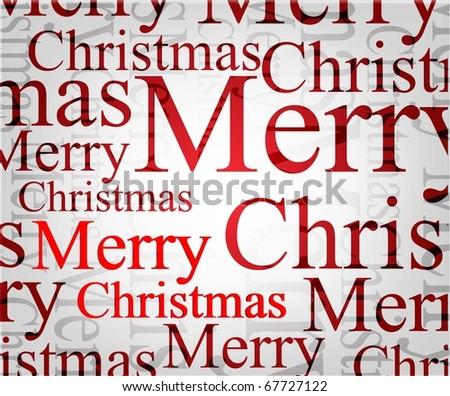 christmas  background. Raster version - stock photo