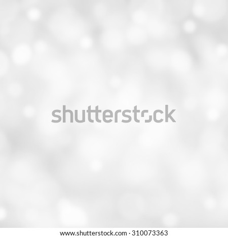 Christmas bokeh background with Lights on grey background.  - stock photo