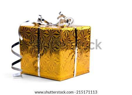 Christmas candles on the old wooden background and fir-tree branches. copy space - stock photo
