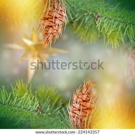 Christmas decoration - Christmastime - stock photo