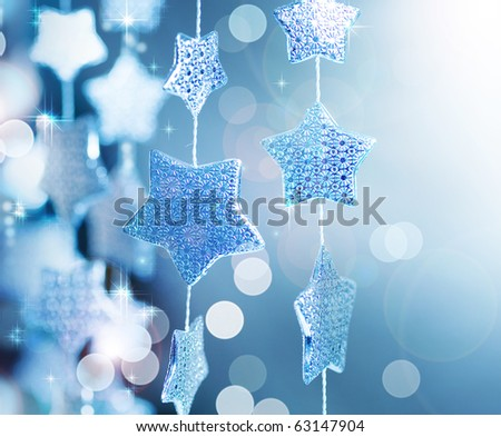 Christmas decoration.Winter - stock photo
