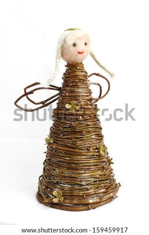 Christmas decorations handmade - stock photo