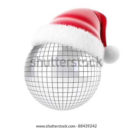 Christmas disco - stock photo