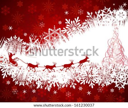 Christmas  festive background. - stock photo