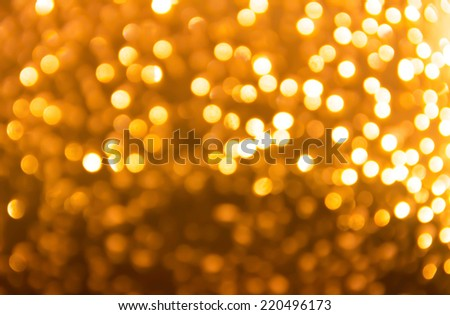 Christmas holiday lights bokeh background.Blurred Bokeh - stock photo