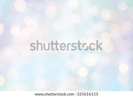 christmas, holidays and background concept - blured holidays lights - stock photo