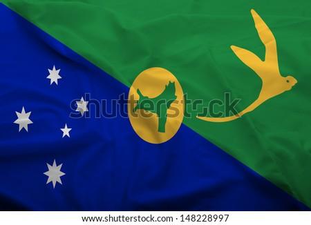 Christmas Island Flag - stock photo