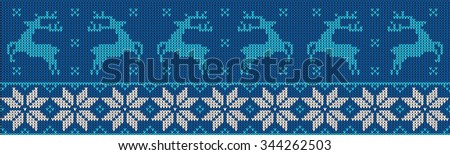 christmas jumper pattern design - stock photo