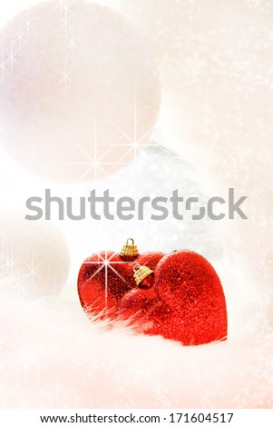 Christmas love - stock photo