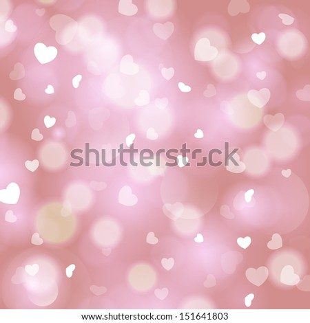 Christmas love abstract background. For vector version, see my portfolio.  - stock photo