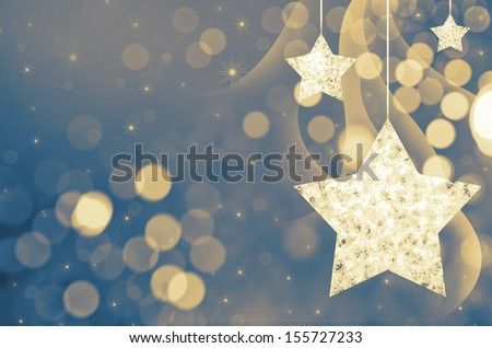 christmas new year background - stock photo