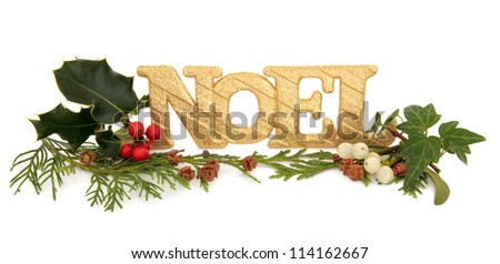 Stock images similar to id 154294556 holly berry leaf for Decoration biscuits de noel