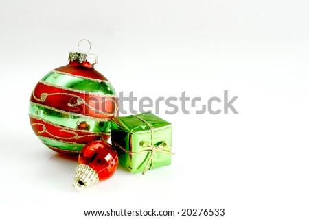 Christmas ornaments - stock photo