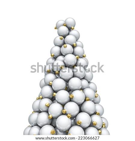 Christmas ornaments peak - stock photo