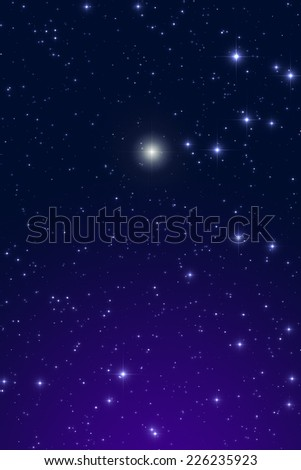 Christmas star. - stock photo