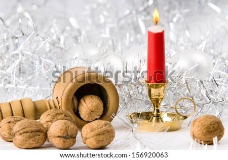 Christmas still life  - stock photo