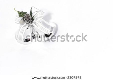 Christmas wedding bells - stock photo