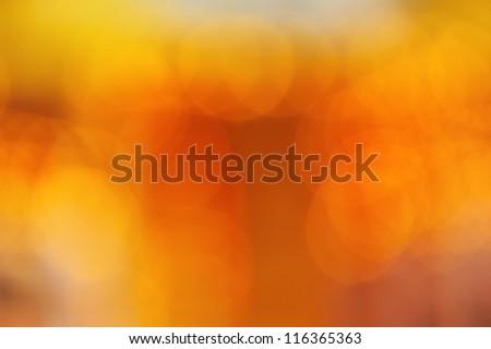 Christmas yellow background - stock photo