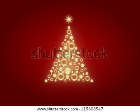 Christmes Tree - stock photo