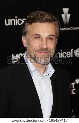 Christoph Waltz in attendance for The Weinstein Company and Montblanc Pre-Oscar Charity Cocktail, Soho House West Hollywood, Los Angeles, CA March 6, 2010 - stock photo
