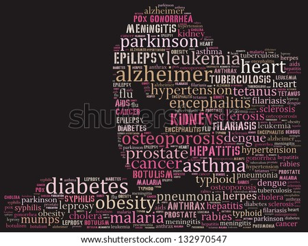 Chronic disease complex - stock photo