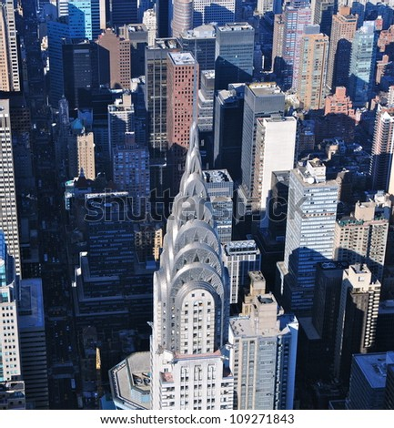 Chrysler Building, New York - stock photo