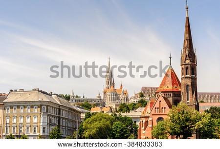 Church in Budapest, Hungary - stock photo