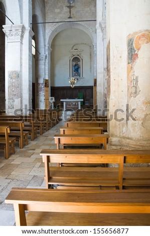 Church of St. Maria Maggiore. Monte Sant'Angelo. Puglia. Italy.  - stock photo