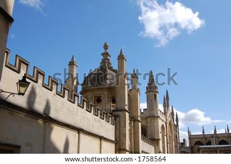 Church Spires, Oxford, UK - stock photo