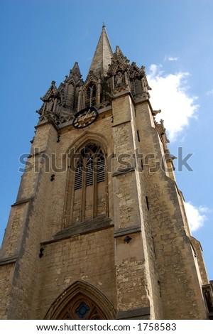 Church Tower, Oxford, UK - stock photo