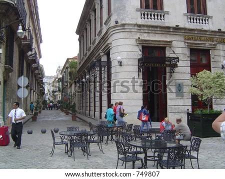 Cigar shop Havana - stock photo