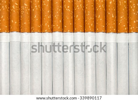 Cigarettes as background - stock photo